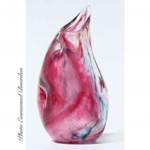 Vase rose