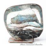 Sculpture cristal & marbre